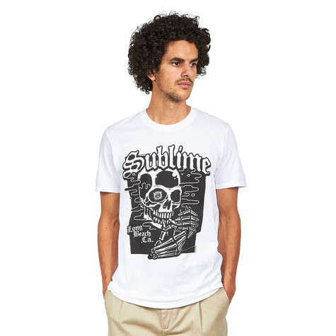 Sublime - Black Skull T-Shirt