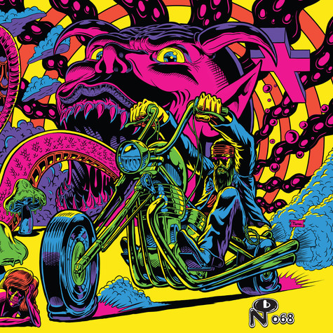 V.A. - Warfaring Strangers: Acid Nightmares Opaque Blue Vinyl Edition