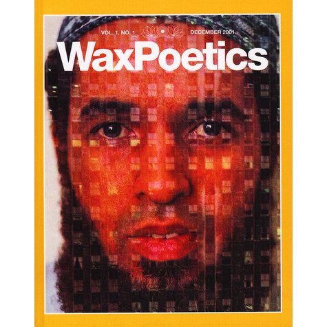 Waxpoetics - Issue 1 Hardcover Special Edition