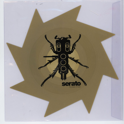"""Serato X Thud Rumble - Weapons of Wax #1 (Spike) 1x 12"""" Control Vinyl"""