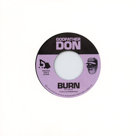 Godfather Don - Stuck Off The Realness / Burn