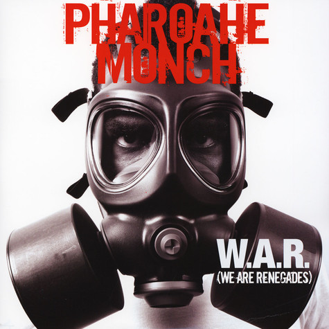 Pharoahe Monch - W.A.R. (We Are Renegades) Red Vinyl Edition