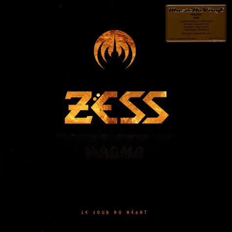 Magma - Zess Colored Vinyl Version