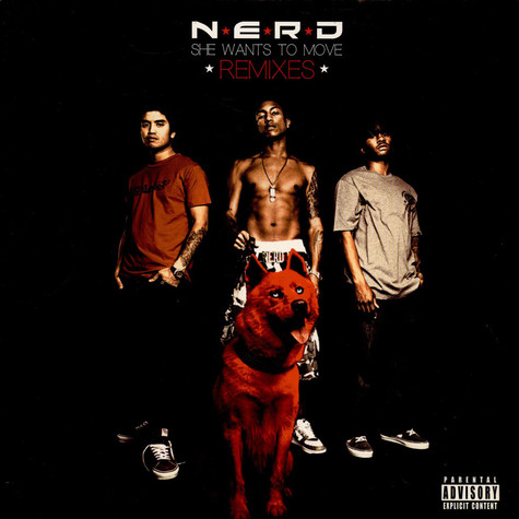 N.E.R.D. - She Wants To Move Remixes