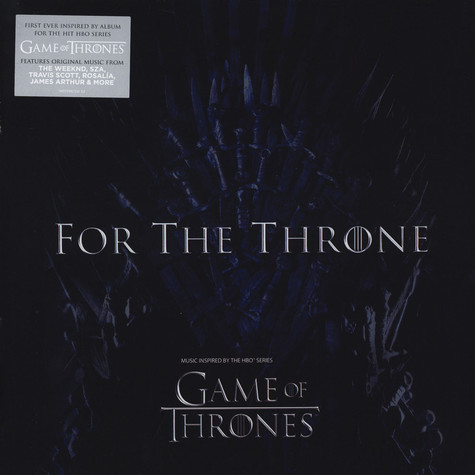 V.A. - For The Throne - Music Inspired By The Hbo Series Game Of Thrones Black Vinyl Edition