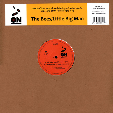 Bees, The / Little Big Man - On -The Sound Of On Records 1987-1989