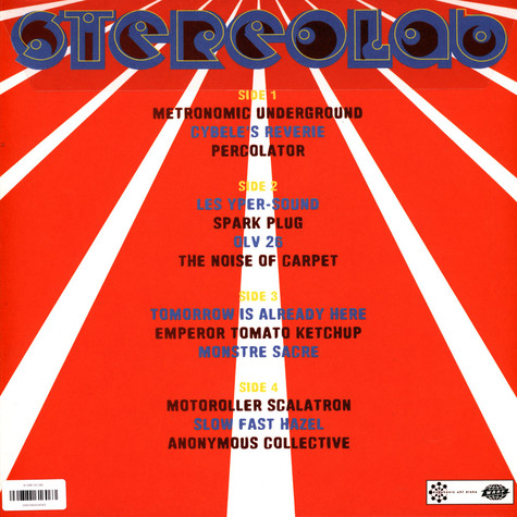 Stereolab - Emperor Tomato Ketchup Clear Vinyl Edition