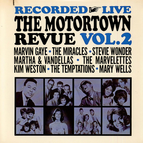 V.A. - Recorded Live The Motortown Revue Vol. 2