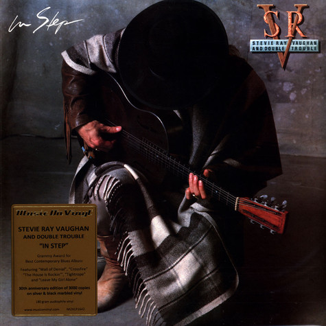 Stevie Ray Vaughan - In Step Coloured Vinyl Edition
