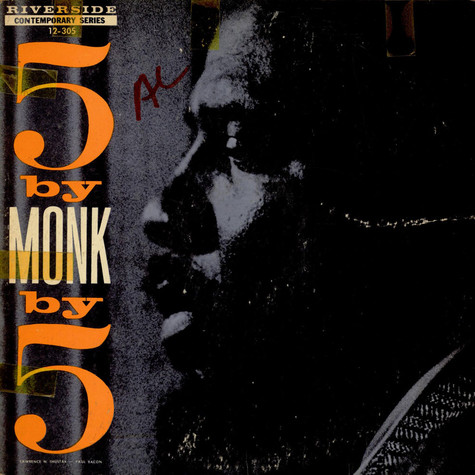 The Thelonious Monk Quintet - 5 By Monk By 5