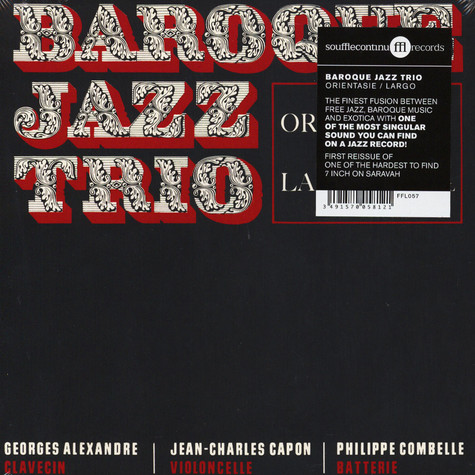 Baroque Jazz Trio - Orientasie / Largo