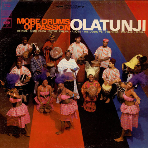 Babatunde Olatunji - More Drums Of Passion
