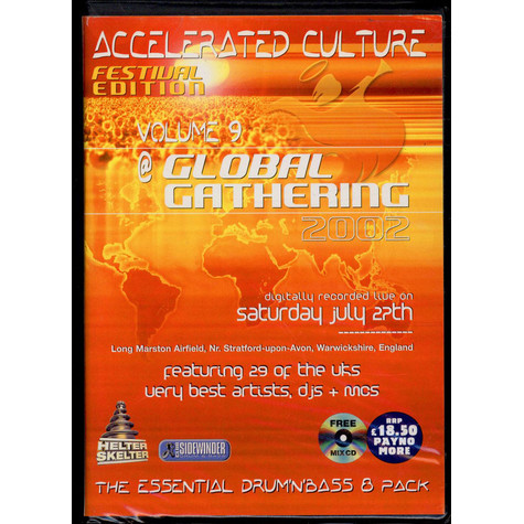 V.A. - Accelerated Culture 9 - Global Gathering 2002