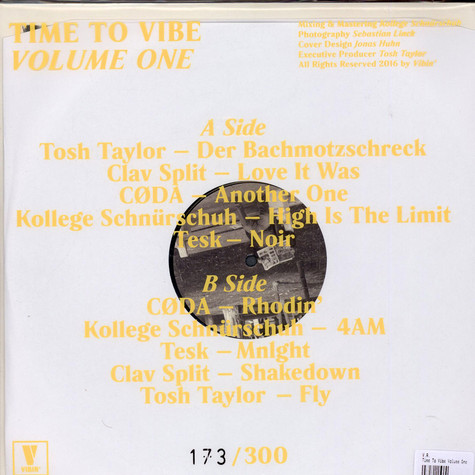 V.A. - Time To Vibe Volume One