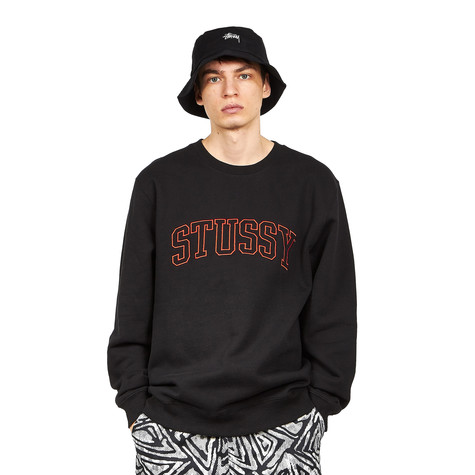 Stüssy - Stussy Outline Applique Crew Sweater