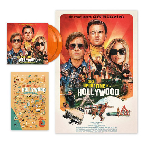 V.A. - OST Quentin Tarantino's Once Upon A Time In Hollywood Limited Orange Vinyl Edition