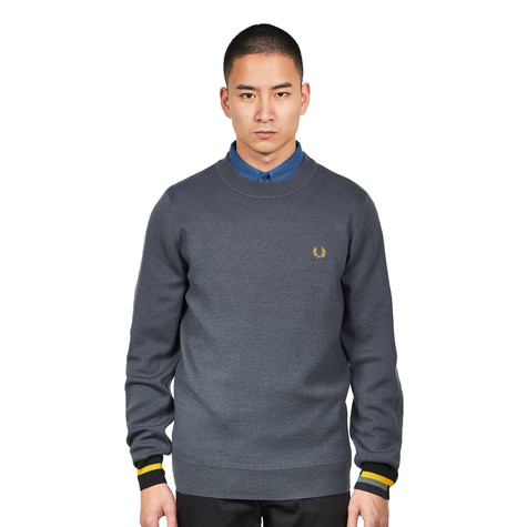 Fred Perry - Bonded Merino Crew Neck Jumper