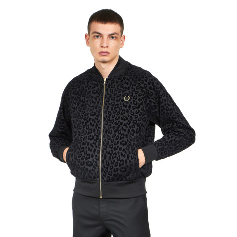 Fred Perry x Miles Kane - Leopard Track Jacket