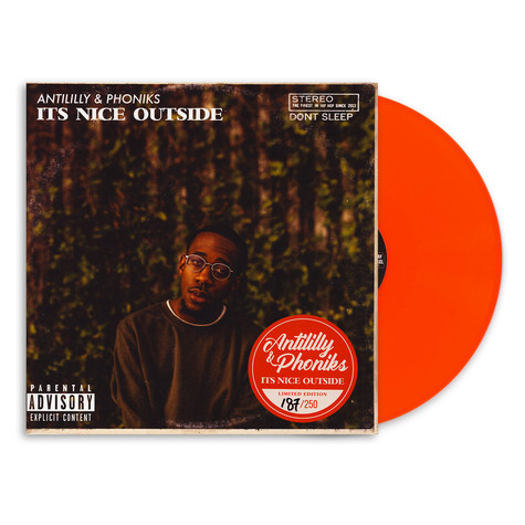 Anti-Lilly & Phoniks - It's Nice Outside Orange Vinyl Edition