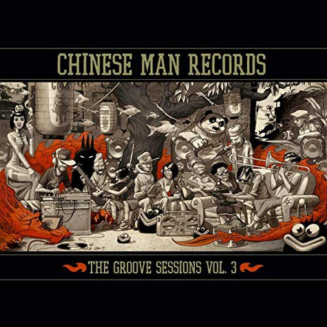 Chinese Man - The Groove Sessions Volume 3 Red Vinyl Edition