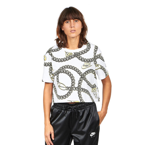 Nike - WMNS NSW T-Shirt Glam Dunk Crop