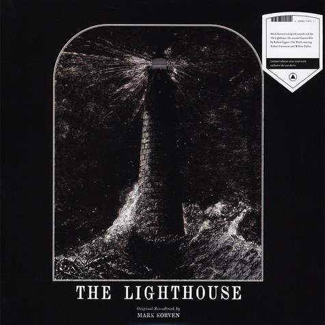 Mark Korven - The Lighthouse: Original Soundtrack Clear Vinyl Edition