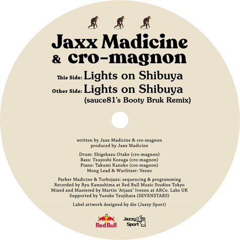 Jaxx Madicine & Cro-Magnon - Lights On Shibuya