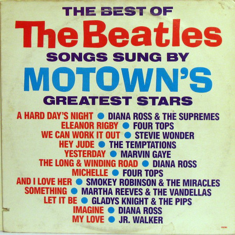 V.A. - The Best Of The Beatles Songs Sung By Motown's Greatest Stars
