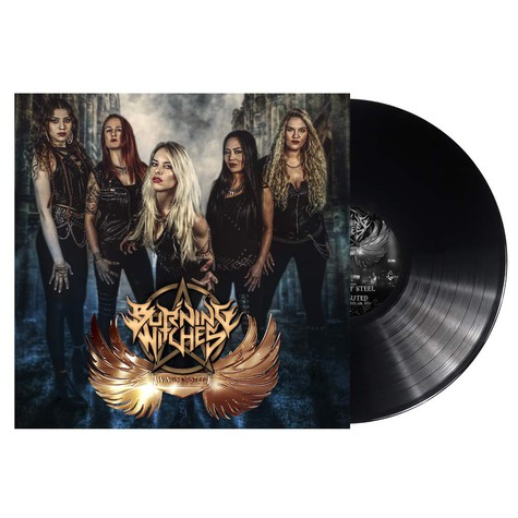 Burning Witches - Wings Of Steel Black Vinyl Edition