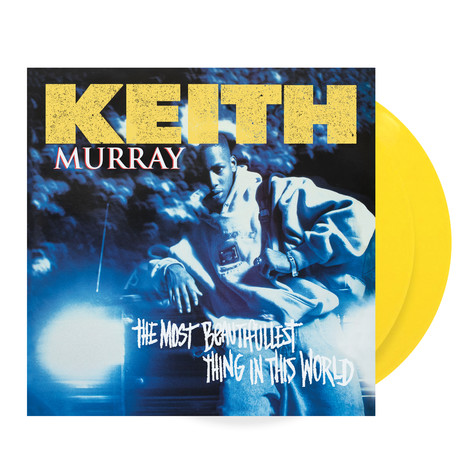 Keith Murray - The Most Beautifullest Thing In The World Colored Vinyl Edition
