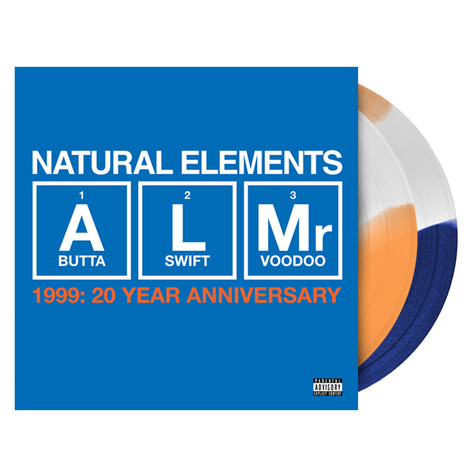 Natural Elements - 1999 20th Anniversary HHV Exclusive Tri-Colored Vinyl Edition