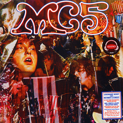 MC5 - Kick Out The Jams Red/White/Blue Splatter Vinyl Edition