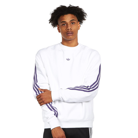 adidas - 3Stripe Wrap Crew Sweater