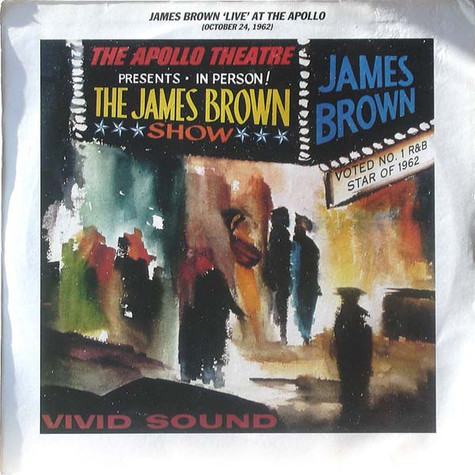 James Brown - Live At The Apollo, 1962