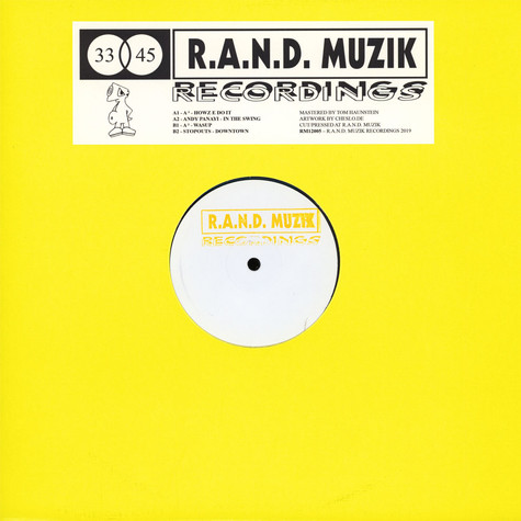 A2, Stopouts & Andy Panay - RM12005