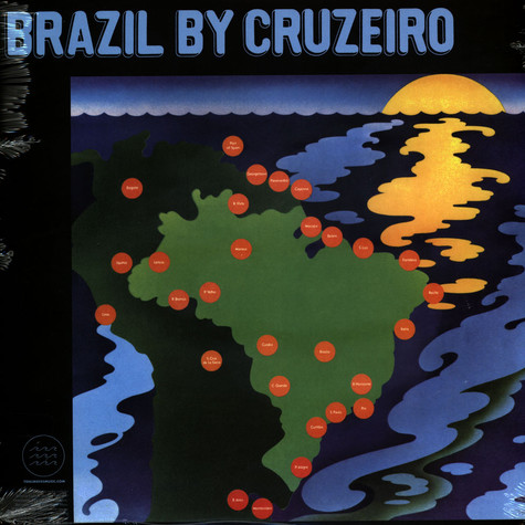 Marcos Valle & Azymuth - Fly Cruzeiro Limited Clear Vinyl Edition