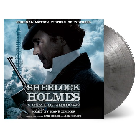Hans Zimmer - OST Sherlock Holmes: A Game Of Shadows Coloured Vinyl Edition