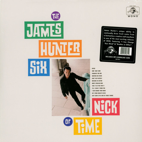 James Hunter Six, The - Nick Of Time Black Vinyl Edition