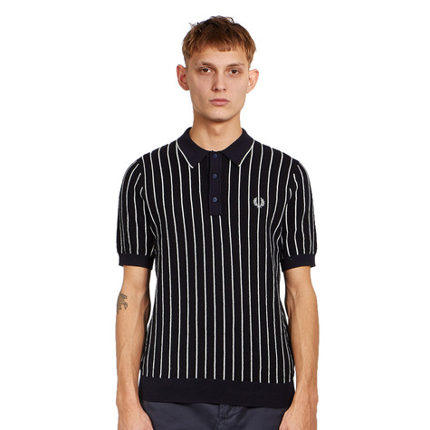 Fred Perry - Stripe Knitted Shirt