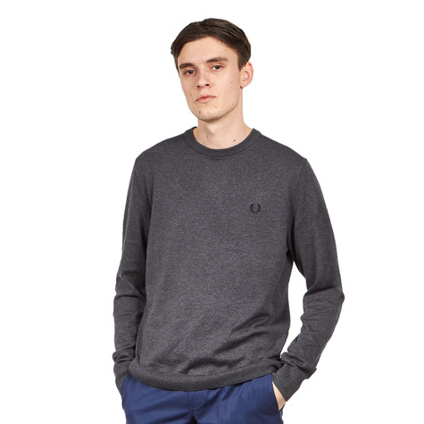 Fred Perry - Classic Cotton Crew Neck Jumper