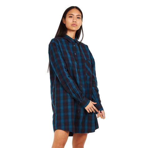 Fred Perry - Overdyed Tartan Shirt Dress