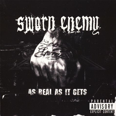 Sworn Enemy - As Real As It Gets Colored Vinyl Edition
