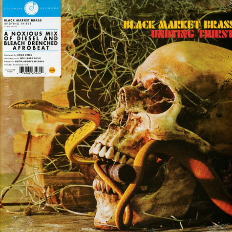Black Market Brass - Undying Thirst HHV EU Exclusive Colored Vinyl Edition