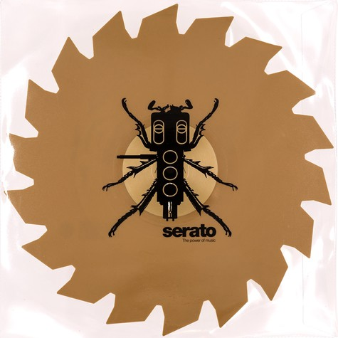 """Serato X Thud Rumble - Weapons of Wax #4 (Buzz Weapons) 1x 12"""" Control Vinyl"""
