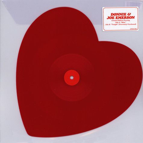Donnie & Joe Emerson - Baby Heart Shaped Vinyl Edition