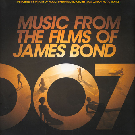 City Of Prague Philharmonic Orchestra, The - Music From The Films Of James Bond