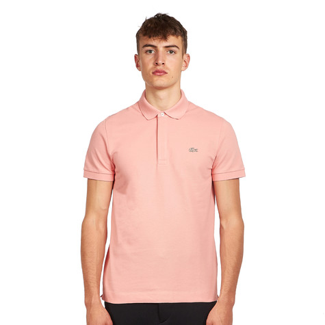 Lacoste - Short Sleeved Ribbed Collar Polo Shirt