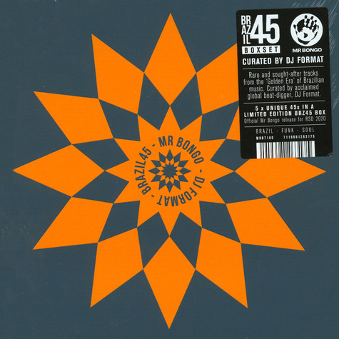 V.A. - Brazil 45 Boxset Curated By DJ Format Record Store Day 2020 Edition