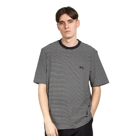 Stüssy - Mini Stripe Crew Neck Tee