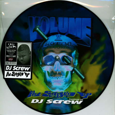 DJ Screw - All Screwed Up Picture Disc